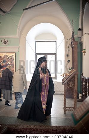 Orthodox Liturgy With Bishop Mercury