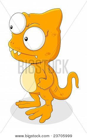 Strange Lizard