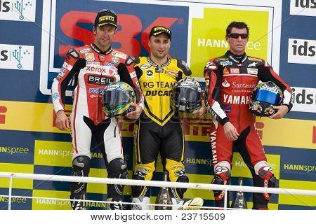 SBK Campeonato del Mundo de Superbikes - Spanish Round - Valencia 2008 en el Circuito Ricardo Tormo de Cheste - Lorenzo Lanzi, Troy Corser, Troy Bayliss