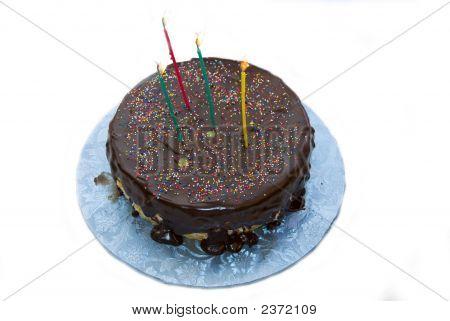 Simple Chocolate Bday Cake