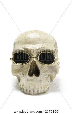 Skull With Sunglasses