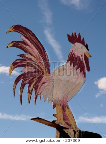 Giant Chicken Sign