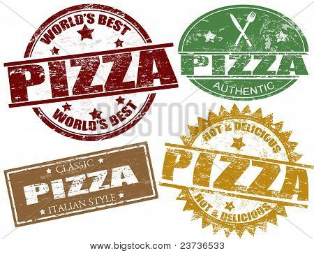 Pizza Stamps