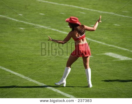 Cheerleader Dancing