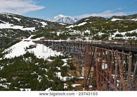 White Pass And Yukon Route Bridge