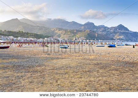 Urban Beach In Sicily