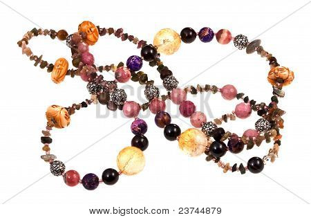 Gemstone Lady's Bead