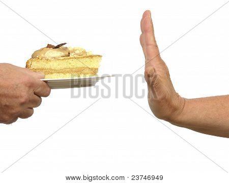 Kuchen-Verweigerung
