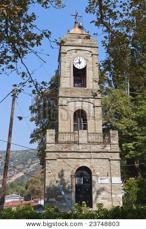 Portaria village of Pelion in Greece