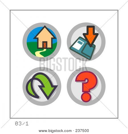 Web: Icon Set 03 - Version 1