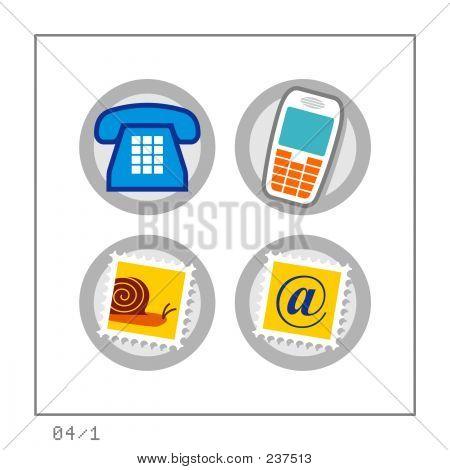 Communication: Icon Set 04 - Version 1