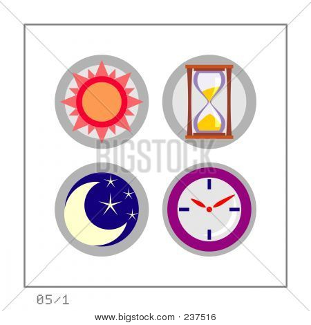 Time: Icon Set 05 - Version 1