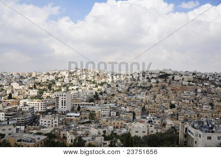 View of Hebron city.