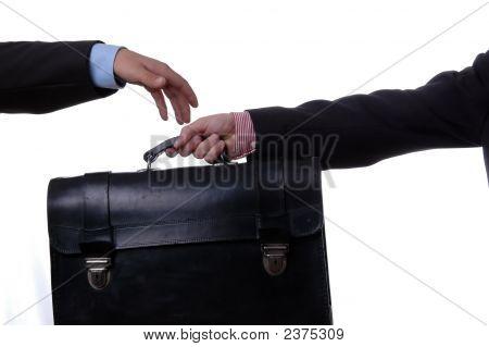 Hands With Handbag