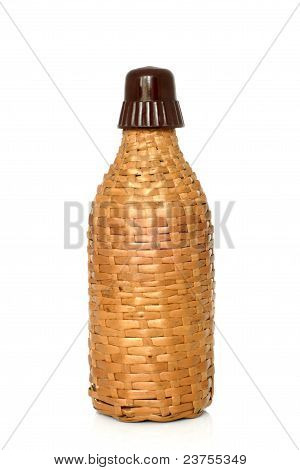 Wicker Bottle