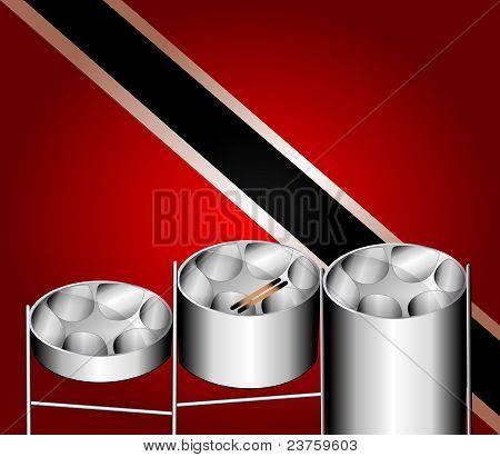 Steel Pan Drums