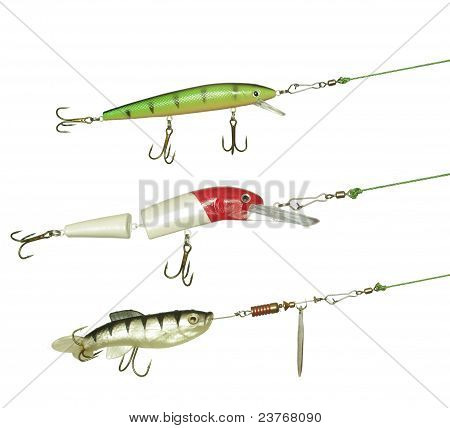 Three Angling Baits For Fishing