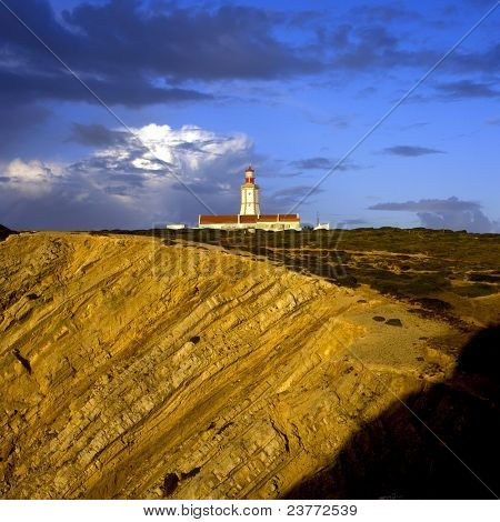 lighthouse, Cabo Espichel, Portugal