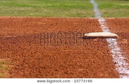 Baseball Field First Base