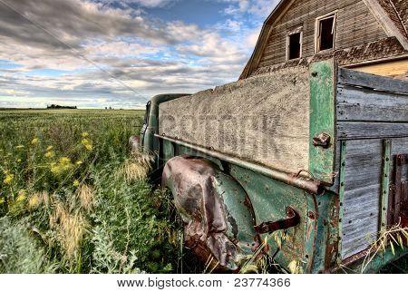 Camiones de granja Vintage