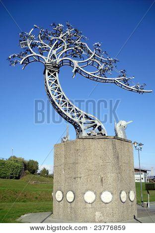 Grúa de arte instalación, Sunderland