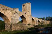 Roman Bridge in Frias poster