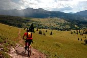 Mtn Biking The Colorado Trail