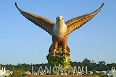 picture of langkawi  - Big eagle statue  - JPG