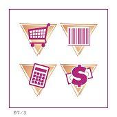 Shopping: Icon poster