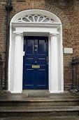 Dark Blue Georgian Door