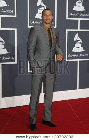 LOS ANGELES, CA - JAN 31: Jesse Williams at the 52nd Annual GRAMMY Awards held at the Nokia Theater on January 31, 2010 in Los Angeles, California