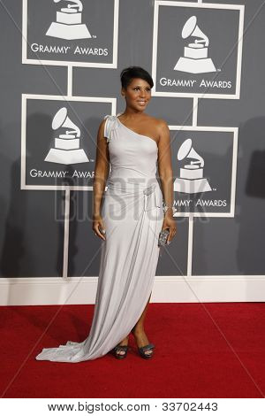 LOS ANGELES, CA - JAN 31: Toni Braxton at the 52nd Annual GRAMMY Awards held at the Nokia Theater on January 31, 2010 in Los Angeles, California