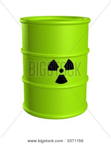 Toxic Waste Barrel Radiation