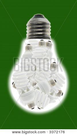 Energiesparlampen verbrauchen weniger Strom