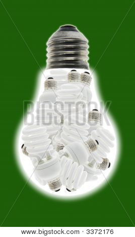 Energy Saving Light Bulbs Consume Less Power