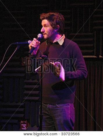 Michael Showalter Heeb Storytelling, January 5, 2006 at Joe's Pub in Manhattan