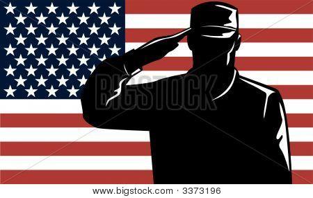 American Military Serviceman