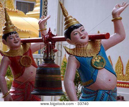 Statue Taken In Burmese Temple