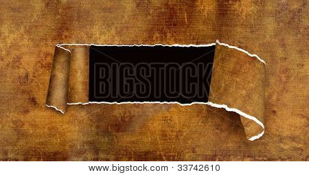 Grunge background wind old paper