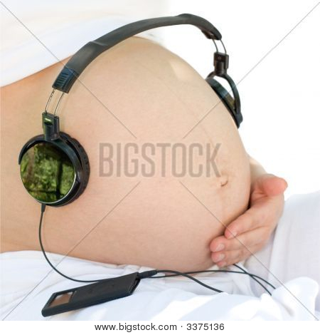 Listening To A Music