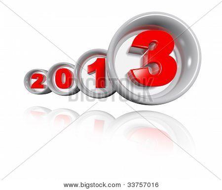 Red 2013 Design In Big Torus