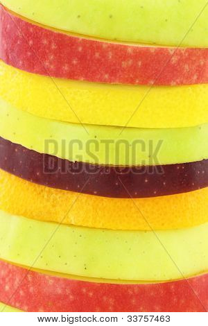 Fruits Slices background