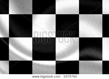 Old Racing Flag