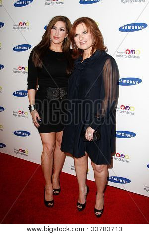 NEW YORK-JUNE 4: TV personality Jacqueline Laurita and Caroline Manzo attend Samsung's Annual Hope for Children gala at the American Museum of Natural History on June 4, 2012 in New York City.