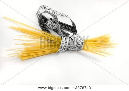 Ernährung von Spaghetti