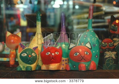 Three Cat Doll