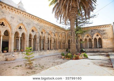 Pater Noster church in Jerusalem, Israel