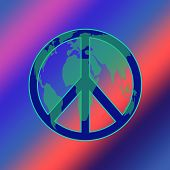 World Peace Tie Dye