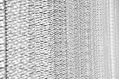 Sharp Metallic Texture. Silver Foil Background. Metal Surface Lathing. Metallic Netting. Protective  poster