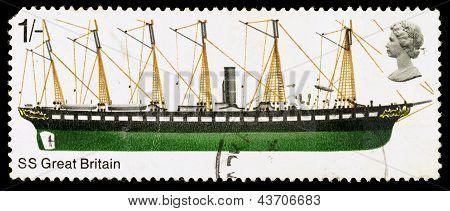 Britain Ss Great Britain Postage Stamp